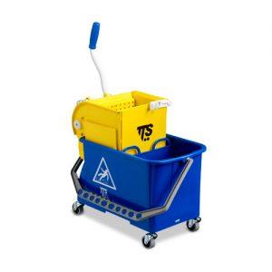 Carro de limpeza com prensa DUPLO BUCKET - Grupo APR