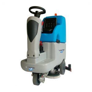Lavadora aspiradora de condutor sentado ECOSMILE 75 - Grupo APR
