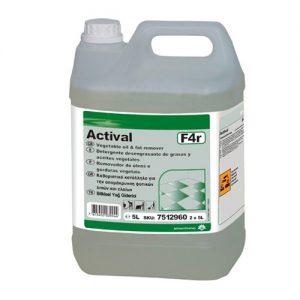 Detergente alcalino ACTIVAL - Grupo APR