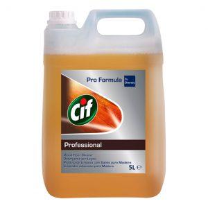 Detergente para limpeza CIF PF LIMPADOR DE MADEIRAS - Grupo APR