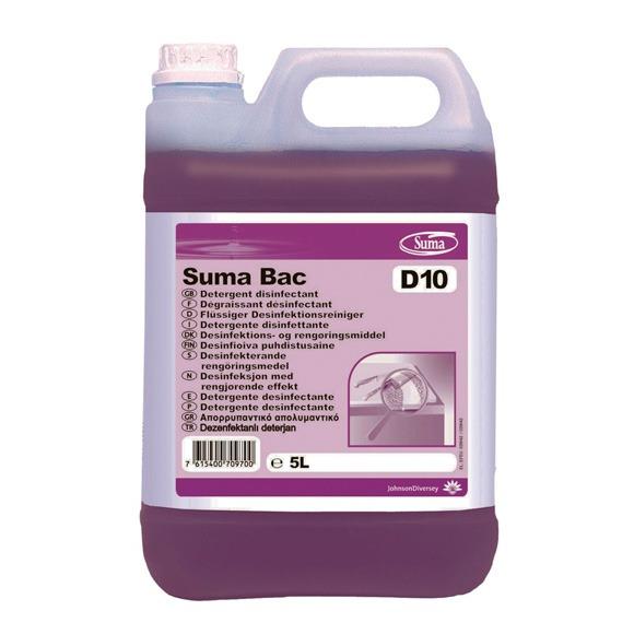 Detergente desinfetante SUMA BAC D10 - Grupo APR